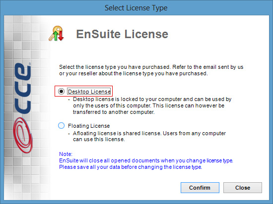 Desktop License